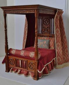 1:12 Scale Tudor Bed | Flickr - Photo Sharing!