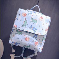 Cartoon Pattern Lovely Cute Bag School Bag Shoulder Bags Backpack