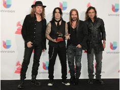 "La banda mexicana Maná gana Grammy Latino a Mejor Álbum Pop/Rock por ""Cama Incendiada"". EFE"