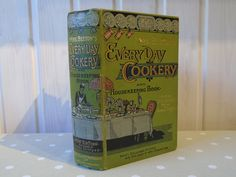 1893 Mrs Beeton's Every Day Cookery and Housekeeping Book - Ward Lock & Co. - Antique Cookery Book - Vintage Cookbook by Butterbeas on Etsy