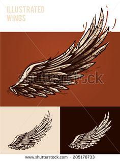 Стоковые фотографии и изображения Eagle Wings Tattoo   Shutterstock