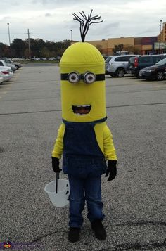 Minion Kevin Homemade Costume - 2015 Halloween Costume Contest