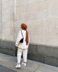 Modest Fashion Hijab, Modern Hijab Fashion, Street Hijab Fashion, Modesty Fashion, Hijab Fashion Inspiration, Muslim Fashion, Mode Inspiration, Look Fashion, Fashion Outfits