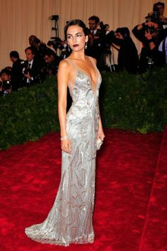 Camilla Belle in Ralph Lauren at the 2012 Met Ball. This dress is to die for!