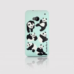 HTC One Case  Mint Panda P00052 by rabbitmint on Etsy, $150.00