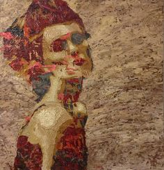 with Love Graduation Project, Female Images, Artist At Work, Printmaking, Egyptian, Modern Art, Saatchi Art, Graffiti, Mixed Media