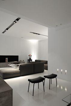 minimalist living room.