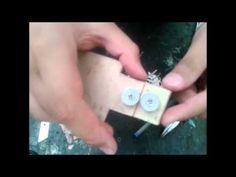 como fazer uma maquina de cortar tiras de garrafa pet com regulagem