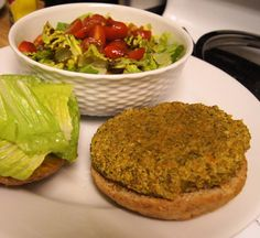 Millet Patties - okay - this one I can eat - nice and alkaline and clean - yaaay! thank you