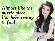 Kissin U by Miranda Cosgrove with lyrics...this song reminds me of Colby and Thomas... <3