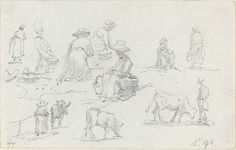 Bilderesultat for eugene boudin sketches