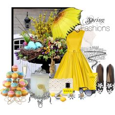 """Spring Fashions"" by villadecorinteriors on Polyvore"