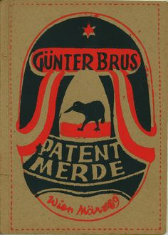 """Günter Brus """"Patent Merde"""" saw this in a museum today, the left side was especially nice (too bad I can't find it) Present Day, Body Art, Museum, Nude, Google Search, Printed, Book, Artwork, Poster"""