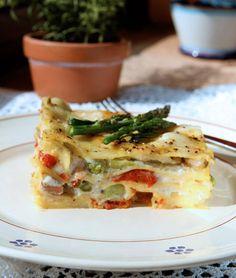 Lasagna Primavera...THIS LOOKS SOOO GOOD!!!! Dinner Tonight!!!