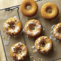 Enjoy these delightful baked donuts for half the calories of a donut-chain version in just 40 minutes. Find these sour cream baked donuts and more delicious healthy recipes in the Cooking Light Diet.