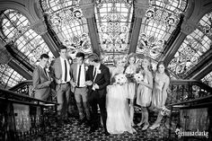 Brooke and Edward's beautiful Wedding on Sydney Harbour and the QVB Tearooms