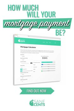 Sane Cents Mortgage Calculator Amortization Calculator