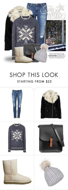 """MERRY CHRISTMAS! 4964"" by boxthoughts ❤ liked on Polyvore featuring AG Adriano Goldschmied, River Island, Fat Face, N'Damus, UGG and Miss Selfridge"