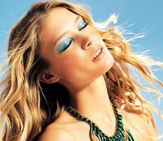 Blond ~ Blue make up