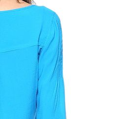 Camisa Pregas - LeLisBlanc Detalhe em pregas nas mangas.