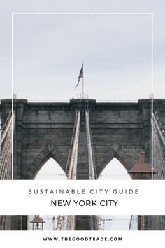 New York City is up next on our sustainable travel wishlist because it's home to a plethora of eco-minded places to stay, shop, and eat all across the city. Nyc Itinerary, Sustainable City, Slow Travel, Cozy Place, New York Travel, Travel Photographer, Zero Waste, Dream Vacations, Sustainability