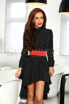 PrettyGirl Different Black Dress