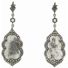 Diamond slice earrings work great for a night out! #FamousFootwear #Shoes