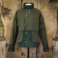 FOLK Water Resistant Nix Jacket - Field Green