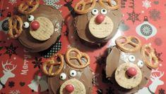 Rénszarvas muffin - Karácsonyi sütik Muffin, Merry, Cool Stuff, Food, Muffins, Meals, Cupcakes, Yemek, Eten
