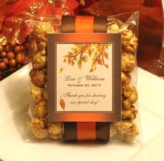 favors...carmel corn