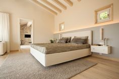 Villa, Bed, Furniture, Home Decor, Hardwood Floors, Hardwood, Master Bedroom, Yurts, Majorca