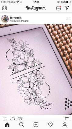 inspiration - flower tattoos designs - Tattoo inspiration -Tattoo inspiration - flower tattoos designs - Tattoo inspiration - 99 Stylish Flower Tattoos That You Deserve Tatto Floral, Delicate Flower Tattoo, Forearm Flower Tattoo, Small Forearm Tattoos, Flower Tattoo Shoulder, Small Flower Tattoos, Floral Tattoo Design, Flower Tattoo Designs, Mandala Tattoo