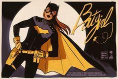 New Batgirl by Francesco Francavilla