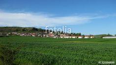 Paisajes rústicos, pueblos. #fotolia #sold #photo #Photo #photography #design #photographer #Landscapes #summer #green #fields #roads #colorful
