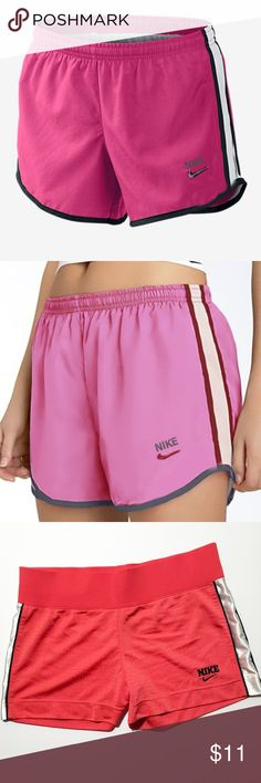 Vintage Nike Womens Pink Mesh Shorts Size Small - Excellent Condition! Like new - Vintage look and feel - Breathable comfortable athletic material - Made for soccer, running, basketball, and athletic activities  Questions? Leave me a comment, I answer quickly. Make an offer or buy today! Nike Shorts