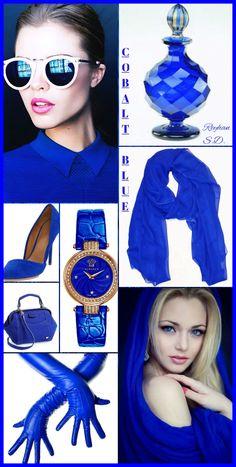 '' Cobalt Blue '' by Reyhan S.D.