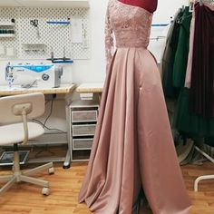 ANA clothing (@atelieranaclothing) • Instagram photos and videos Lovely Shop, Dusty Pink, Custom Made, Gowns, Photo And Video, Formal, Videos, Clothing, Photos
