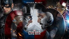 Download Captain America vs Iron Man Tony Stark 1920x1080