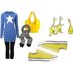 Fashion inspired by Dr. Seuss.