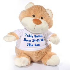 It's a lovely gift idea for anyone who enjoys a big cuddle from a super soft plush friend and is a present they're sure to love and cherish for years to come. Perfect for a child or baby's birthday, Christmas present or even a Naming day gift.