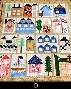 Moda Be My Neighbor Free Quilt Pattern