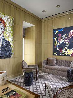 Geoffrey Bradfield | Luxury Interior Design | Park Tower, Chicago