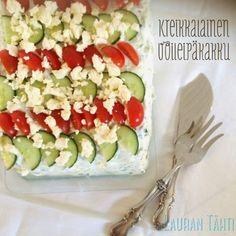Kreikkalainen voileipäkakku