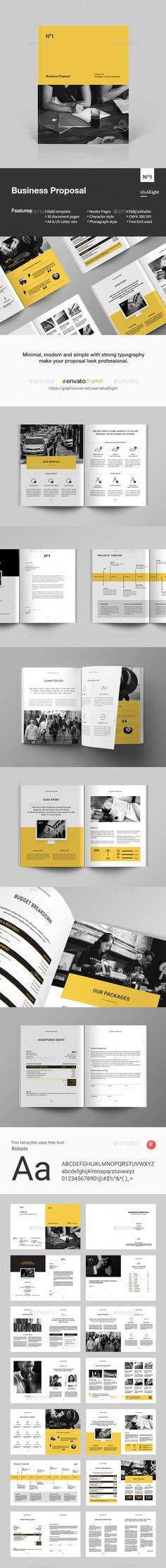 #Business Proposal - #Corporate #Brochures