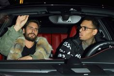 Chris Brown Parties with Scott Disick After 'Murdering' Former Self
