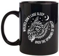 Sketchy Tank Sleep Mug - black