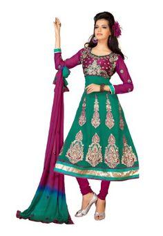 Indian Designer Salwar Kameez Embroidered Sea Green & Magenta Fabdeal,http://www.amazon.com/dp/B00GRXJEDI/ref=cm_sw_r_pi_dp_3Itptb0X0RJ1G8VE