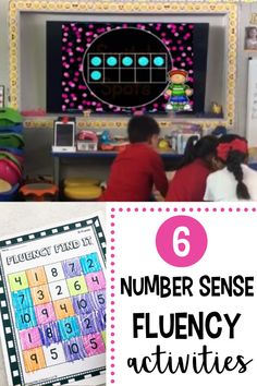 My Number Sense Fluency Find It allows students to work on their number sense skills, while also incorporating movement! Your students will love these fun, engaging, and interactive activities during their math lessons. This also helps build community amongst your students. These activities are great for kindergarten and first grade students. Number Sense Activities, Fluency Activities, Kindergarten Math Activities, Interactive Activities, Math Stations, Math Centers, Subitizing, Love Me Better, Community Building