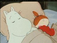 :x:x:x  :x:x:x Little My Moomin, Moomin Wallpaper, Moomin Valley, Good Night Gif, Tove Jansson, Japanese Film, Vintage Cartoon, Cute Memes, Cute Gif