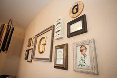 Little Gentleman's #nursery gallery wall.